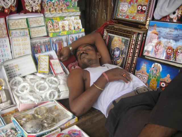 Sleeping Merchant